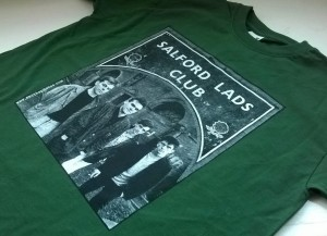 salford lads charity T shirt